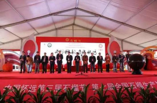 潼关红宝石软籽石榴在第二届中国石榴博览会上荣获金奖